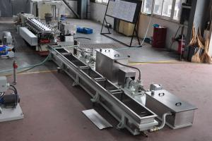 Series: CX 53  <br>Built: CPM Ruiya Extrusion, Nanjing China  <br>Customer Headquarters: Belgium  <br>Installation/Plant site: China  <br>Application: Confidential
