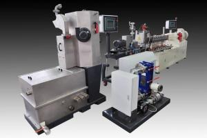 Series: RXT 35 Underwater pelletizing line  <br>Built: CPM Ruiya Extrusion, Nanjing China  <br>Customer Headquarters: China  <br>Installation/Plant site: China  <br>Application: Highly Filled Engineered Plastics