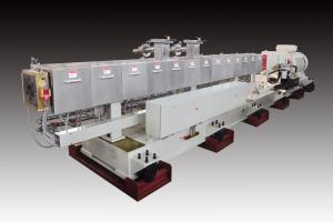 Series: RXT 75  <br>Built: CPM Ruiya Extrusion, Nanjing China  <br>Customer Headquarters: USA  <br>Installation/Plant site: China  <br>Application: In line sheet compounding