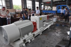 Series: RXV 98 (High Volume)  <br>Built: CPM Ruiya Extrusion, Nanjing China  <br>Customer Headquarters: China  <br>Installation/Plant site: China  <br>Application: Aqua Feed